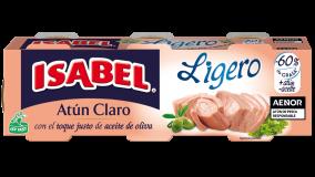 Pack 4 latas de Atún Claro Ligero Isabel 240g (4x60g)