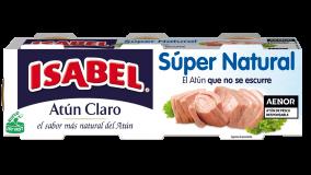 Pack 4 latas de Atún Claro Súper Natura Isabel 224g (4x56g)