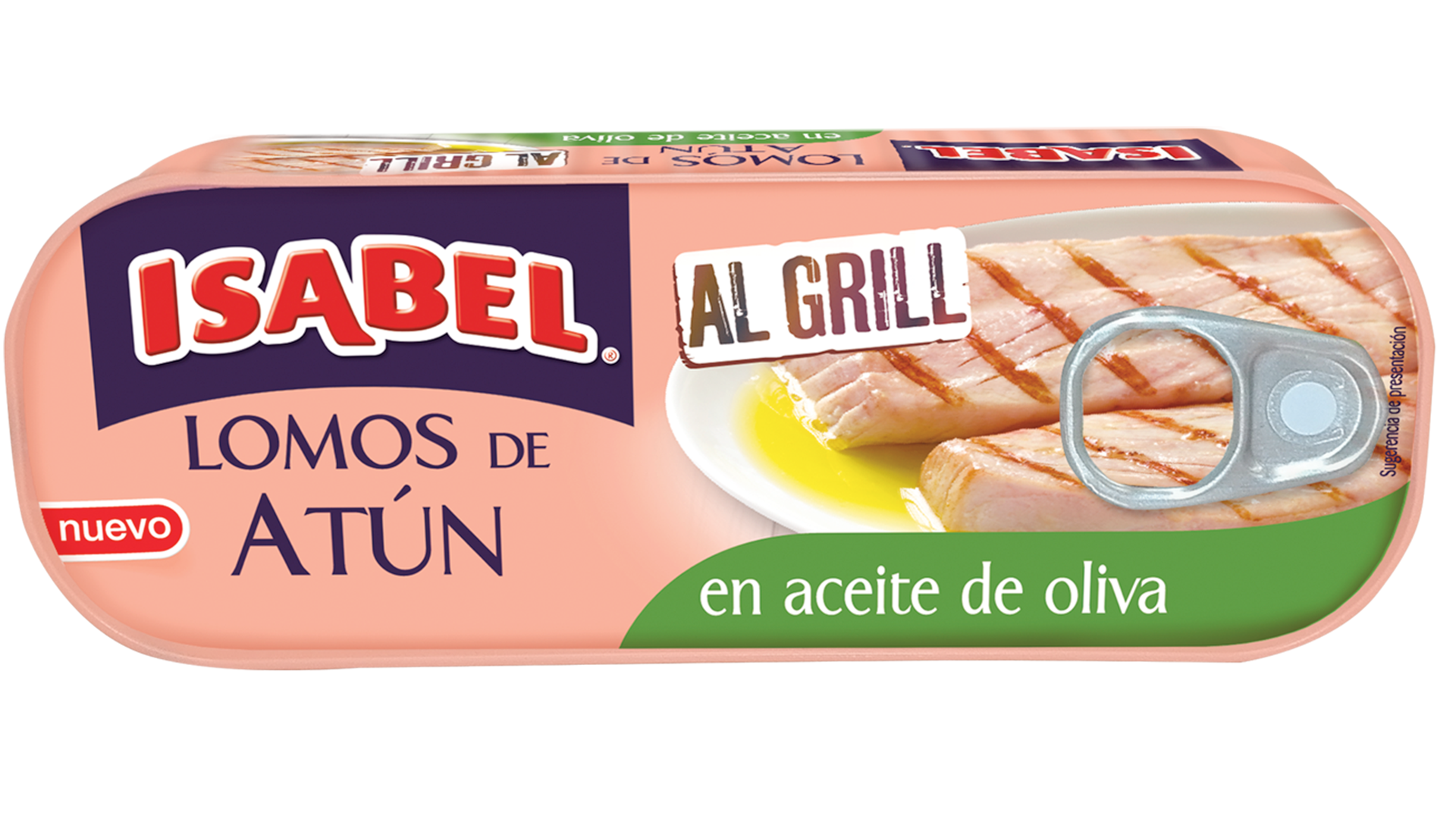 Lomos de atún Al Grill en aceite de oliva