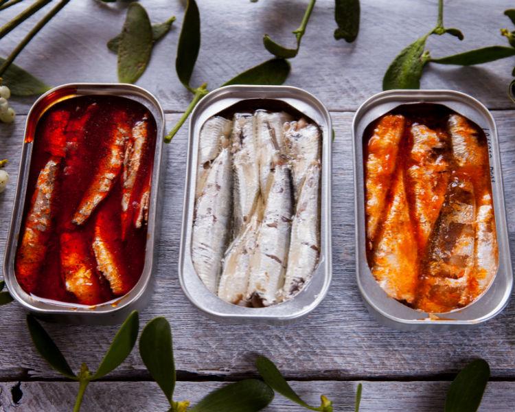 Recetas con sardinas y sardinillas