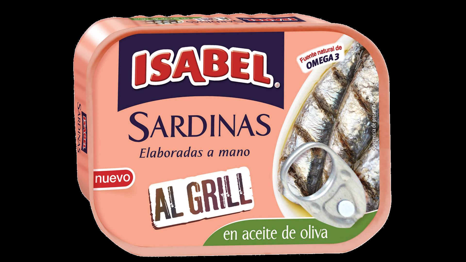 Sardinas Al Grill en aceite de oliva