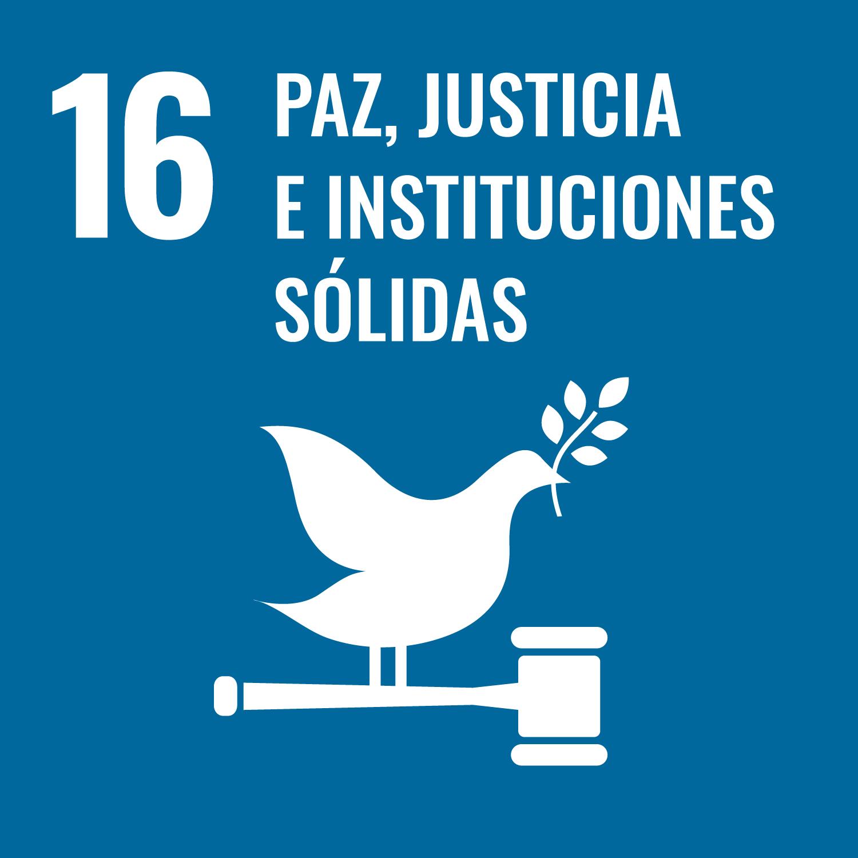 ODs 16. Paz, justicia e instituciones sólidas